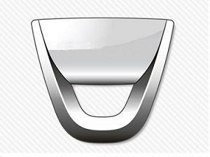 Silver Oval Car Logo.