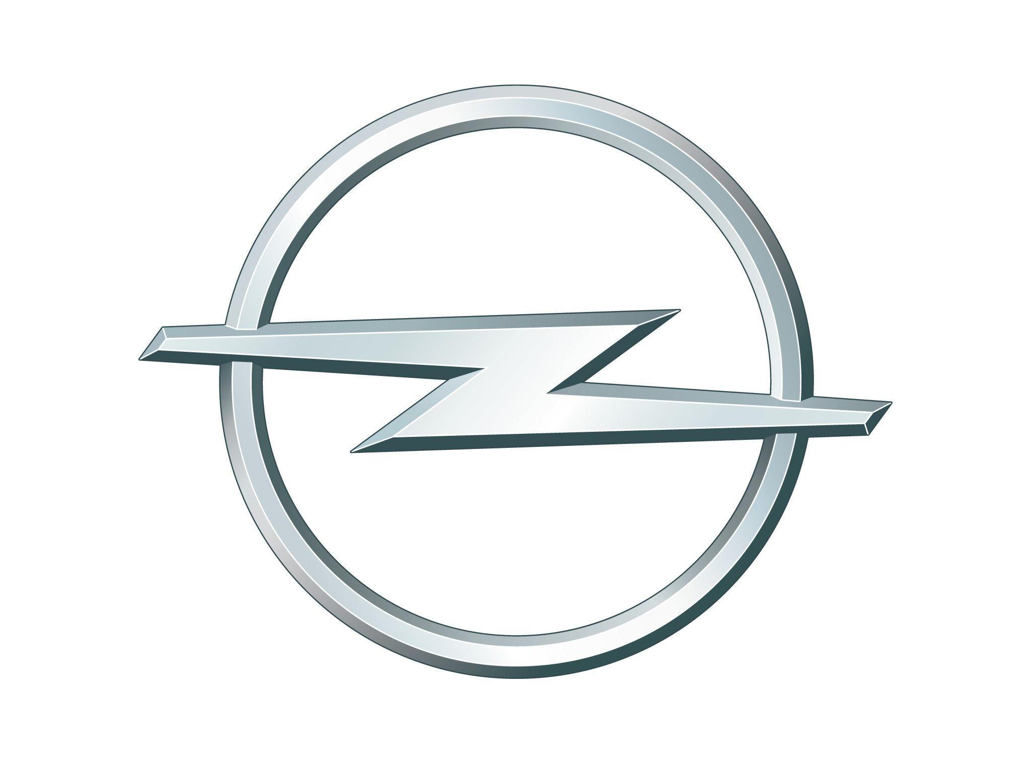 Silver Lightning Bolt Car Logo.