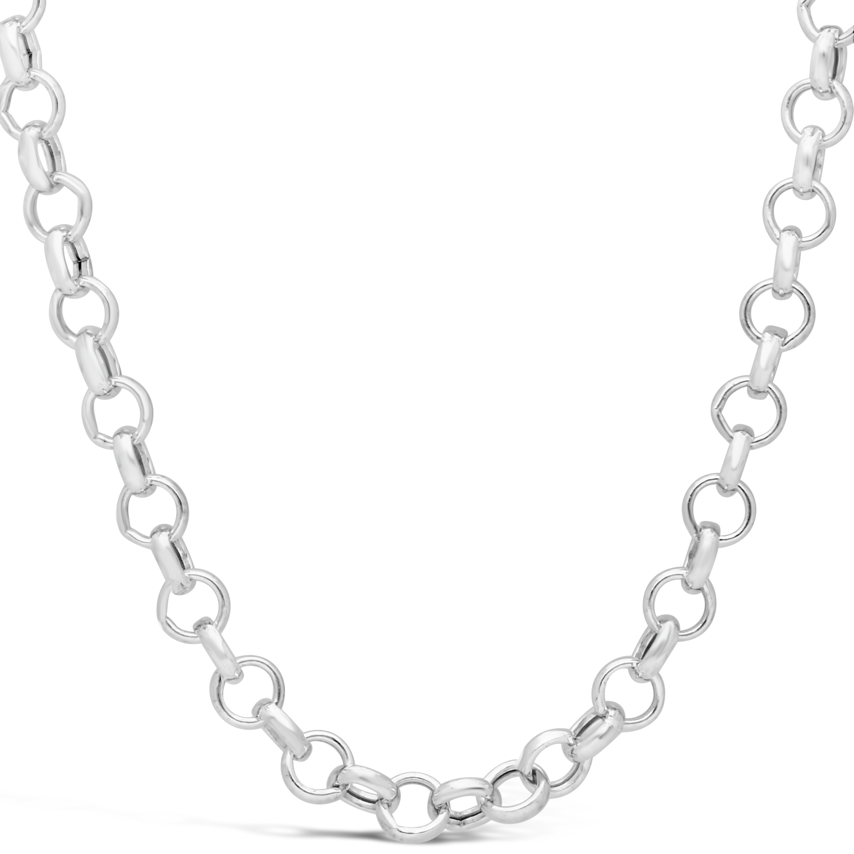 Silver 50cm Belcher Chain.