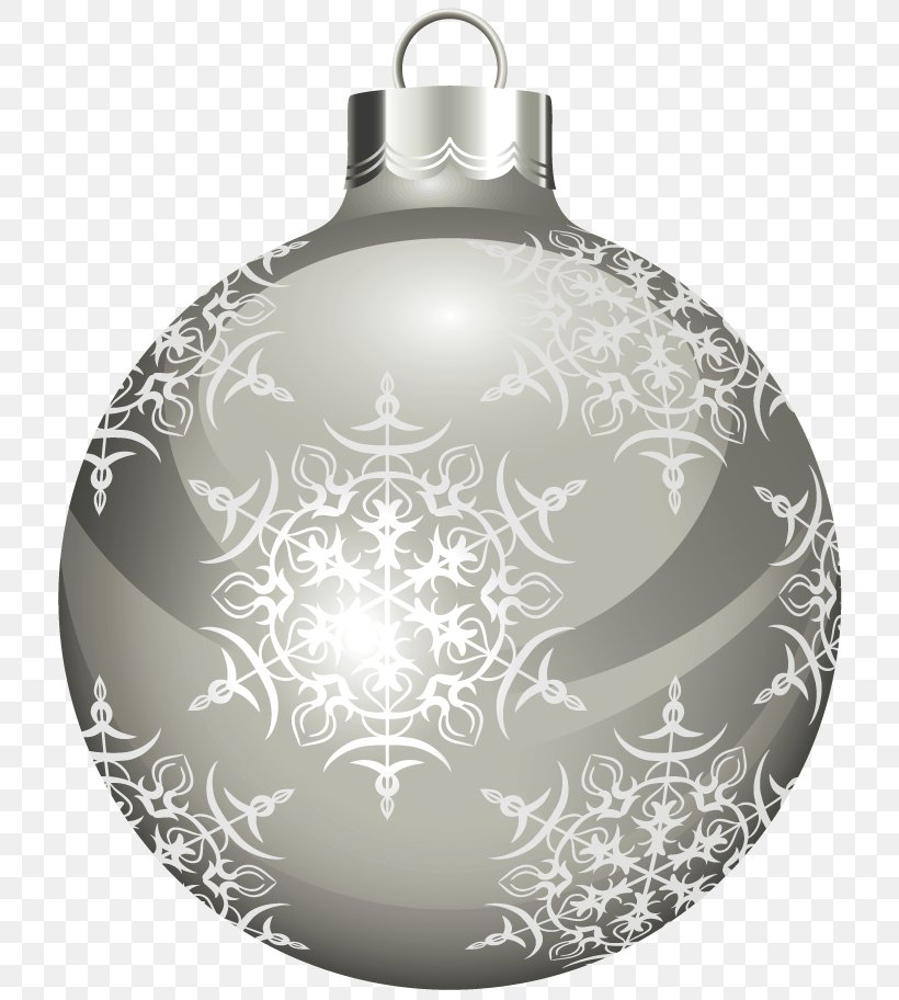 Christmas Ornament White Christmas Clip Art, PNG, 732x912px.