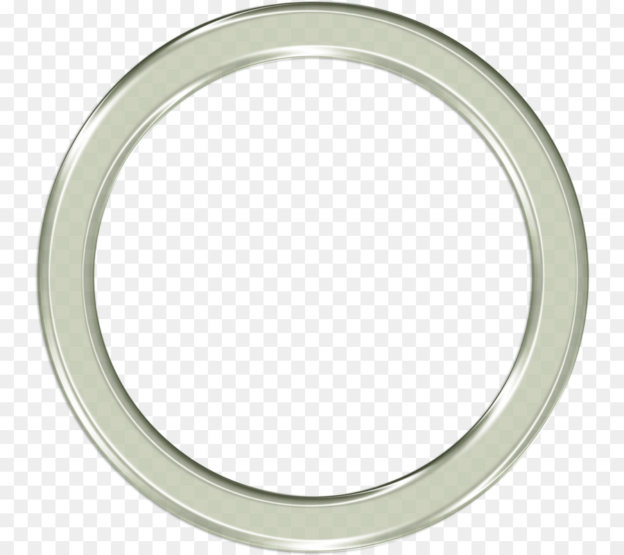Silver Circle png download.
