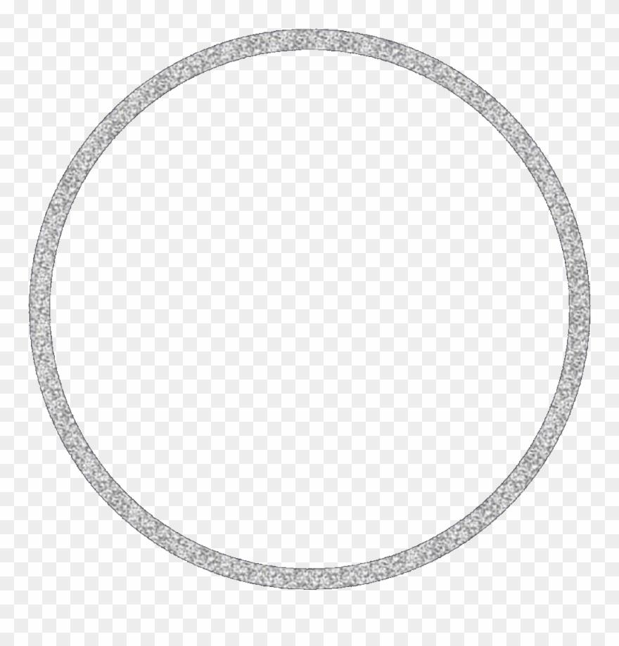 circle #silver #silvercircle #glitter #frame #circleframe.