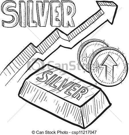 Silver Bar Clip Art.