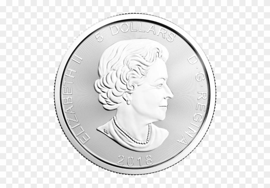 1 Oz Wolf Predator Series Silver Coin Clipart (#2871288.