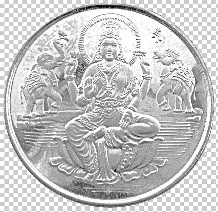 India Ganesha Lakshmi Silver Coin PNG, Clipart, Ancient.