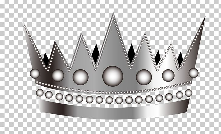 Cartoon Silver Crown PNG, Clipart, Black And White, Brand.