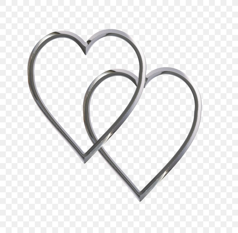 Heart Silver Clip Art, PNG, 800x800px, Heart, Body Jewelry.