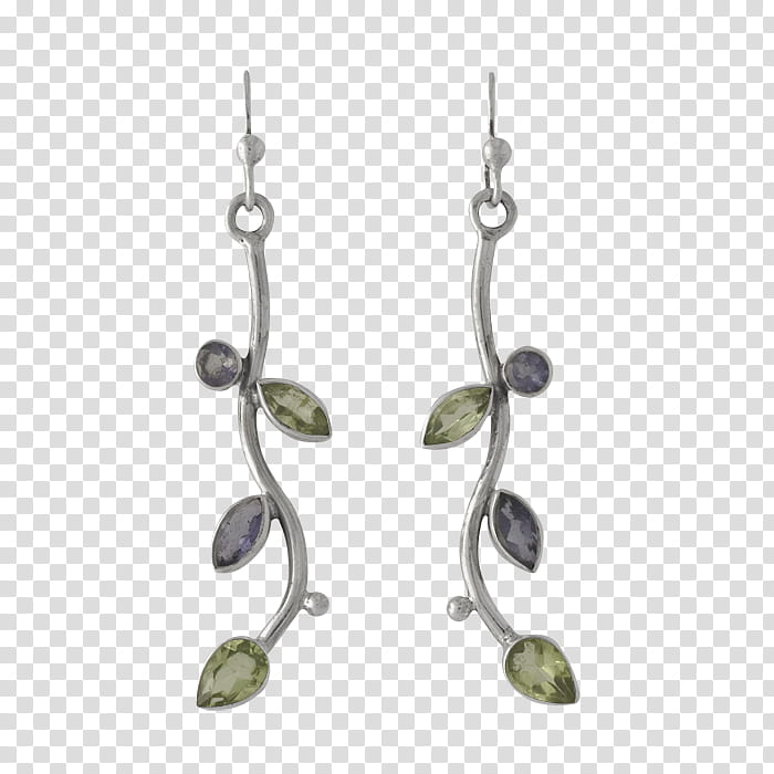 Ear ring vine, two silver.