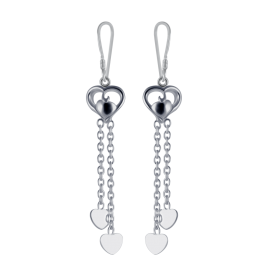Silver earrings online png 1 » PNG Image.