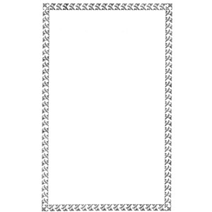 Free Digital Frame Black Decorative Border Clip Art.