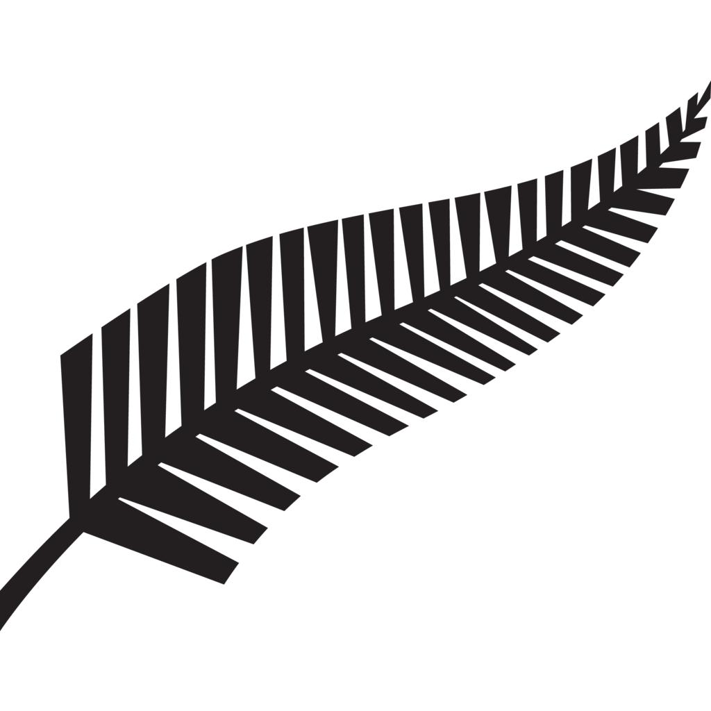 New Zealand Fern logo, Vector Logo of New Zealand Fern brand free.
