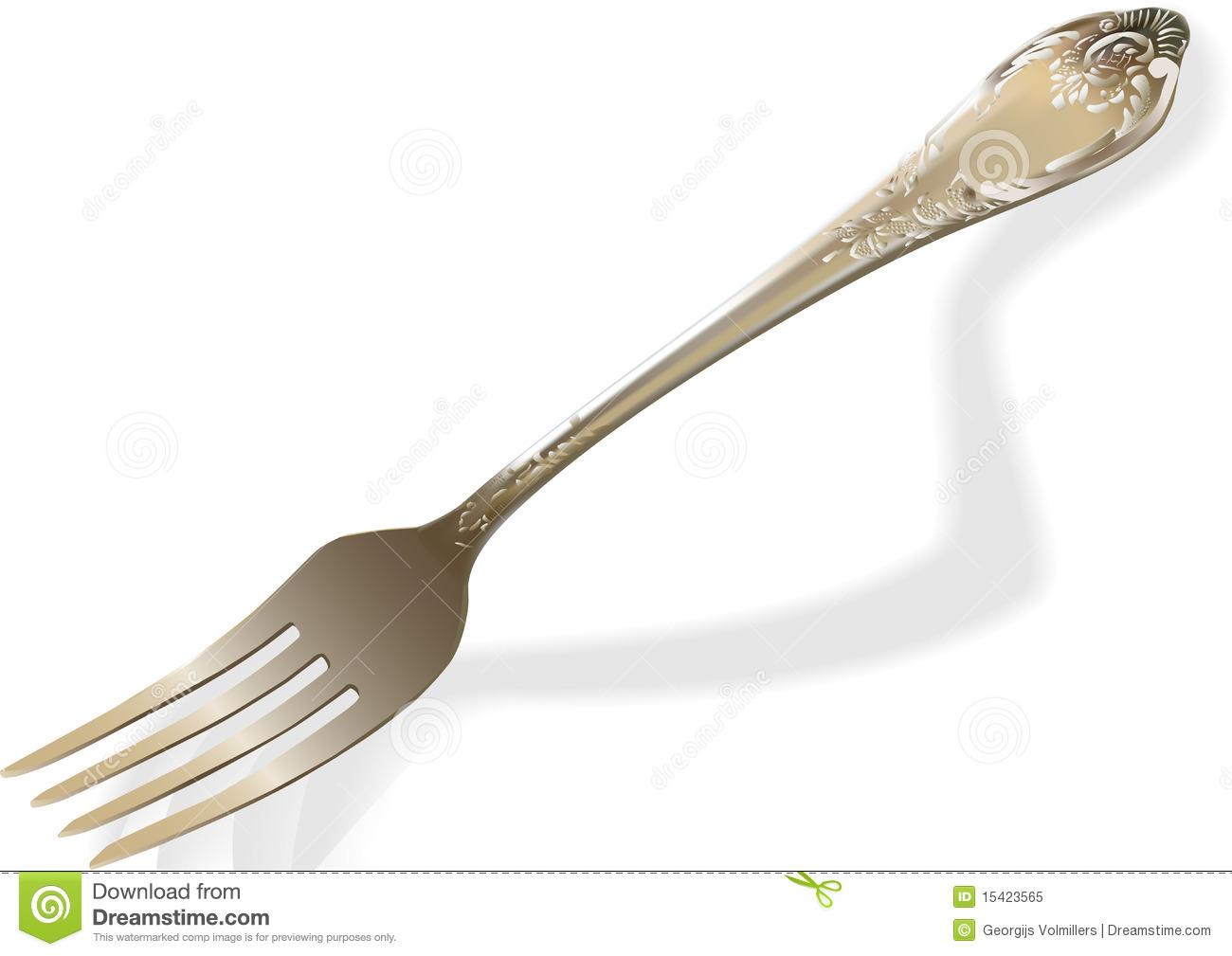 fork clip art.