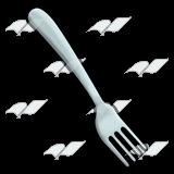 A Beka Book :: Clip Art :: Silver Fork.