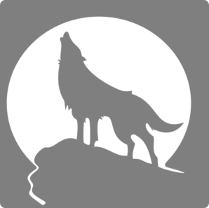 Silver fox clipart » Clipart Station.