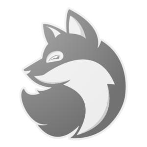 Silver Fox Clipart.