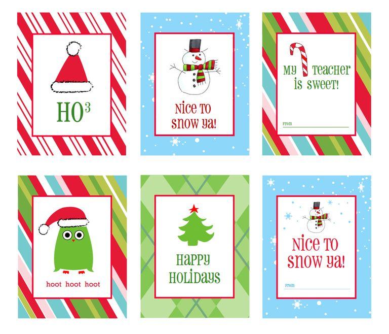 41 Sets of Free Printable Christmas Gift Tags.