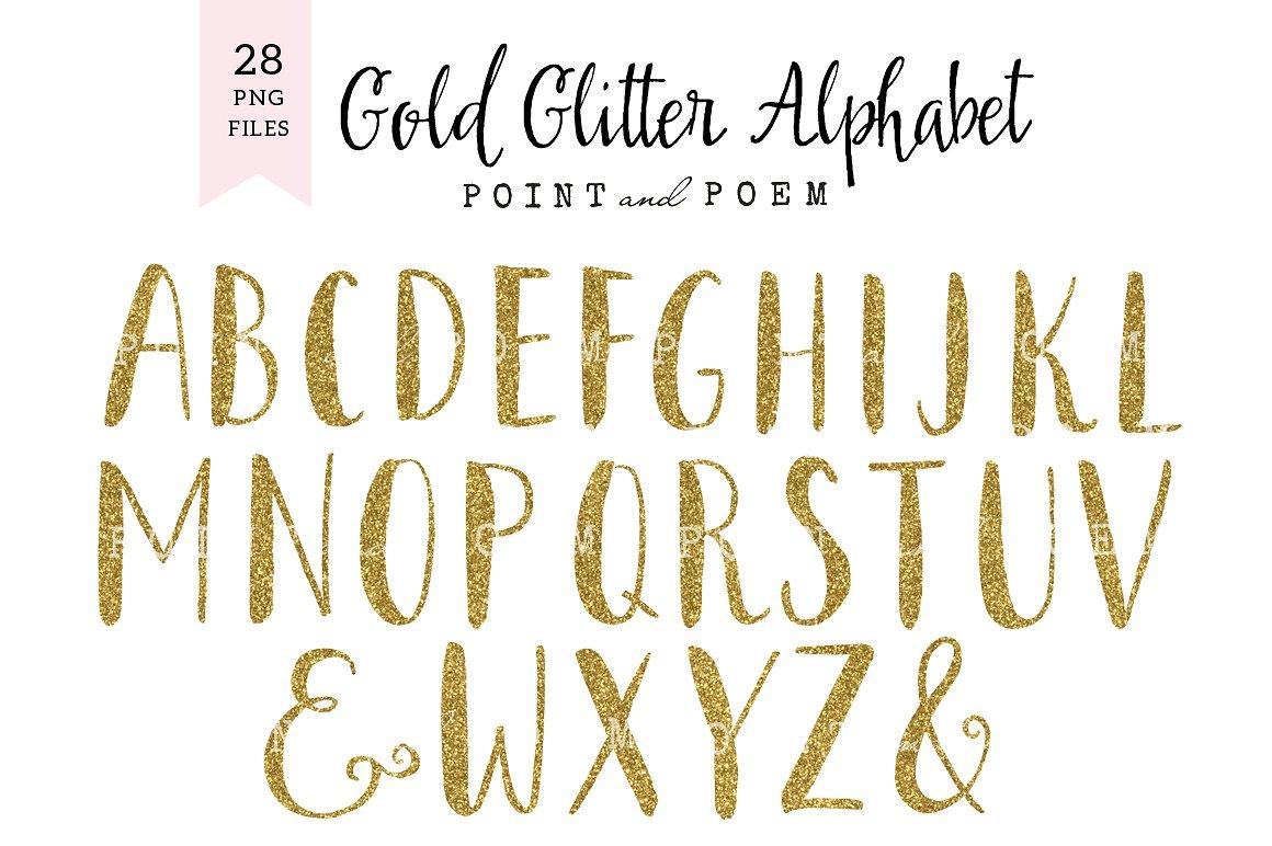 Glitter alphabet Photos, Graphics, Fonts, Themes, Templates.