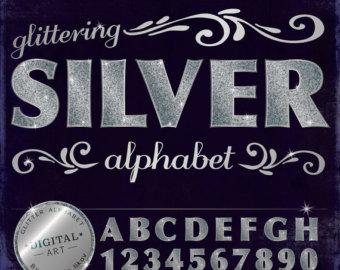 Sparkle alphabet.