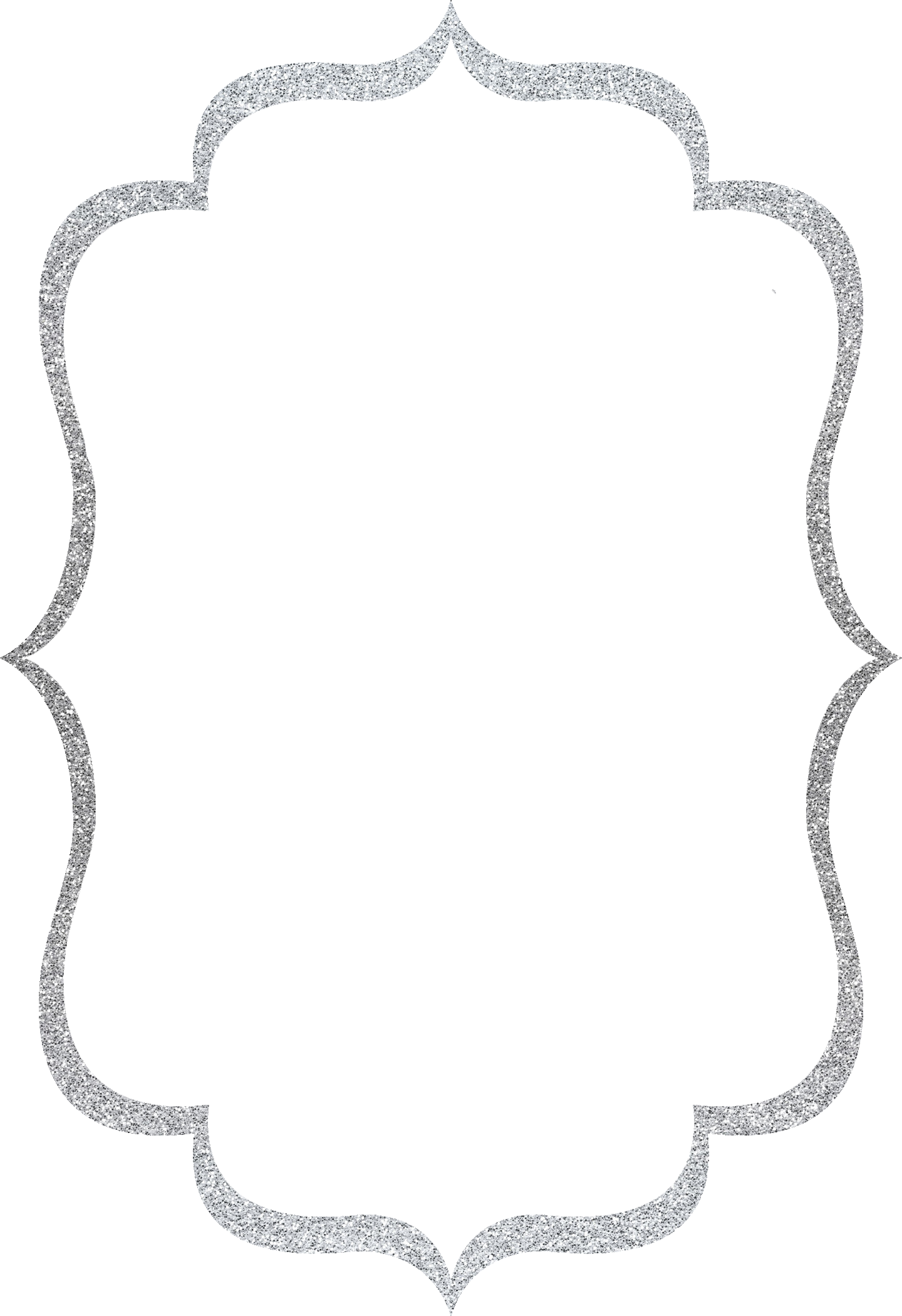 Silver Frames And Borders Transparent Pictures To Pin.