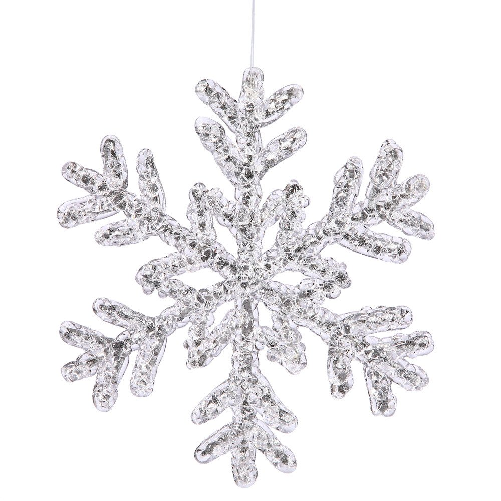 9109 Snowflake free clipart.