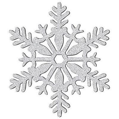 9109 Snowflake free clipart.