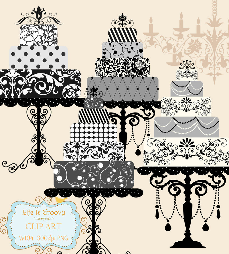 Black grey and silver clipart.