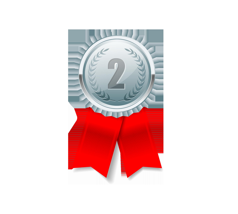 Silver medal Icon.
