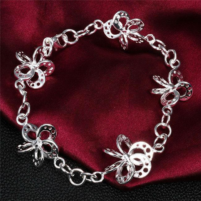 Online Cheap Hot Sale 925 Silver Jewelry Bracelet Fine Fashion.