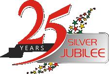 Silver jubilee logo design png 1 » PNG Image.