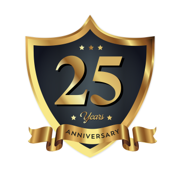25th Anniversary Png, Vector, PSD, and Clipart With.