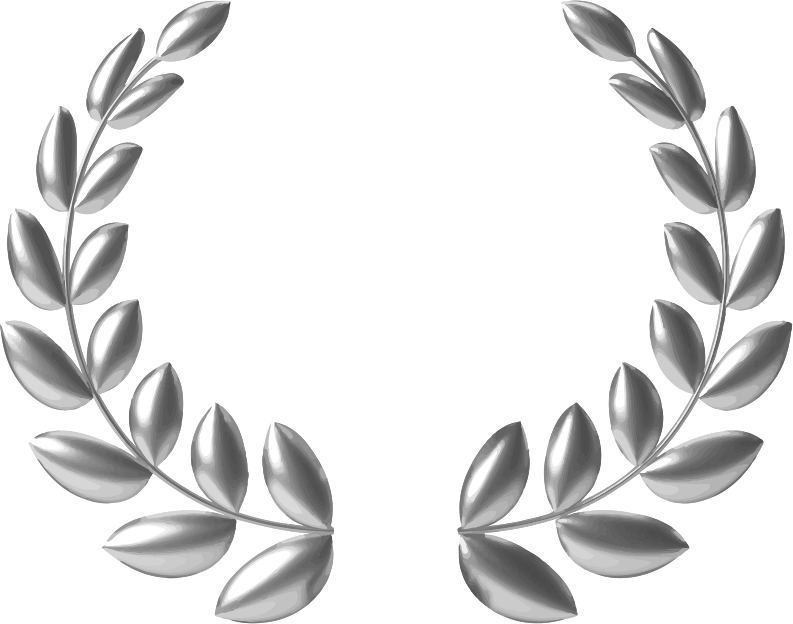 Download Free png Silver wreath.