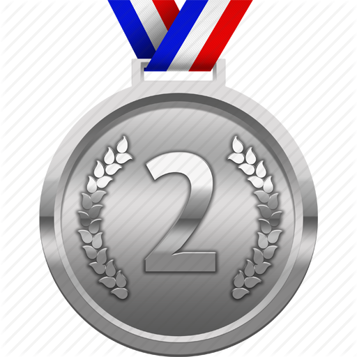 Download Silver Medal PNG Clipart.