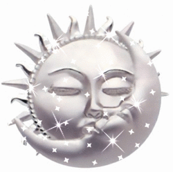 Silver Moon Sun Sparkle.