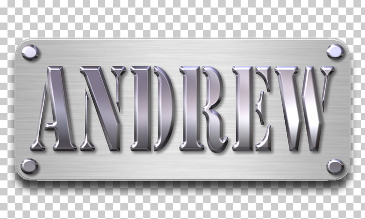 Vehicle License Plates Metal Material, name plate PNG.