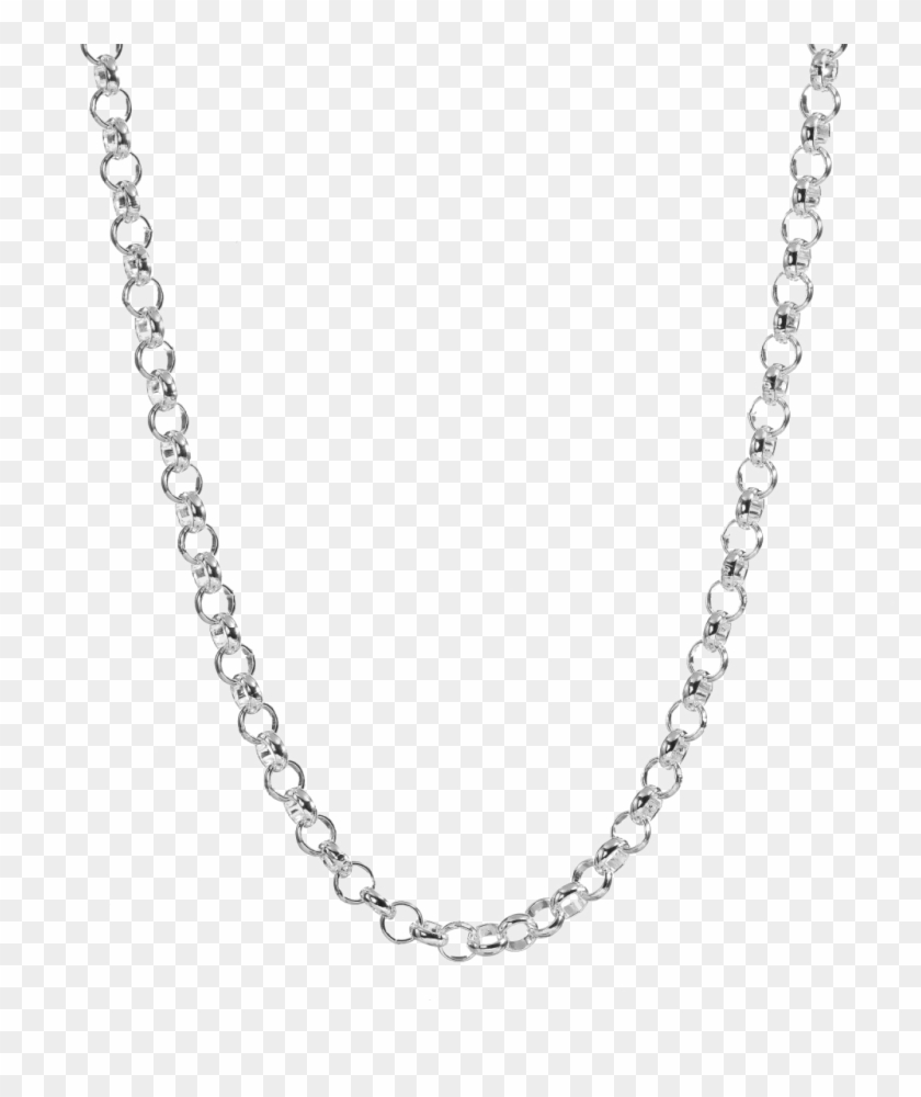 Silver Chain Download Png Image.