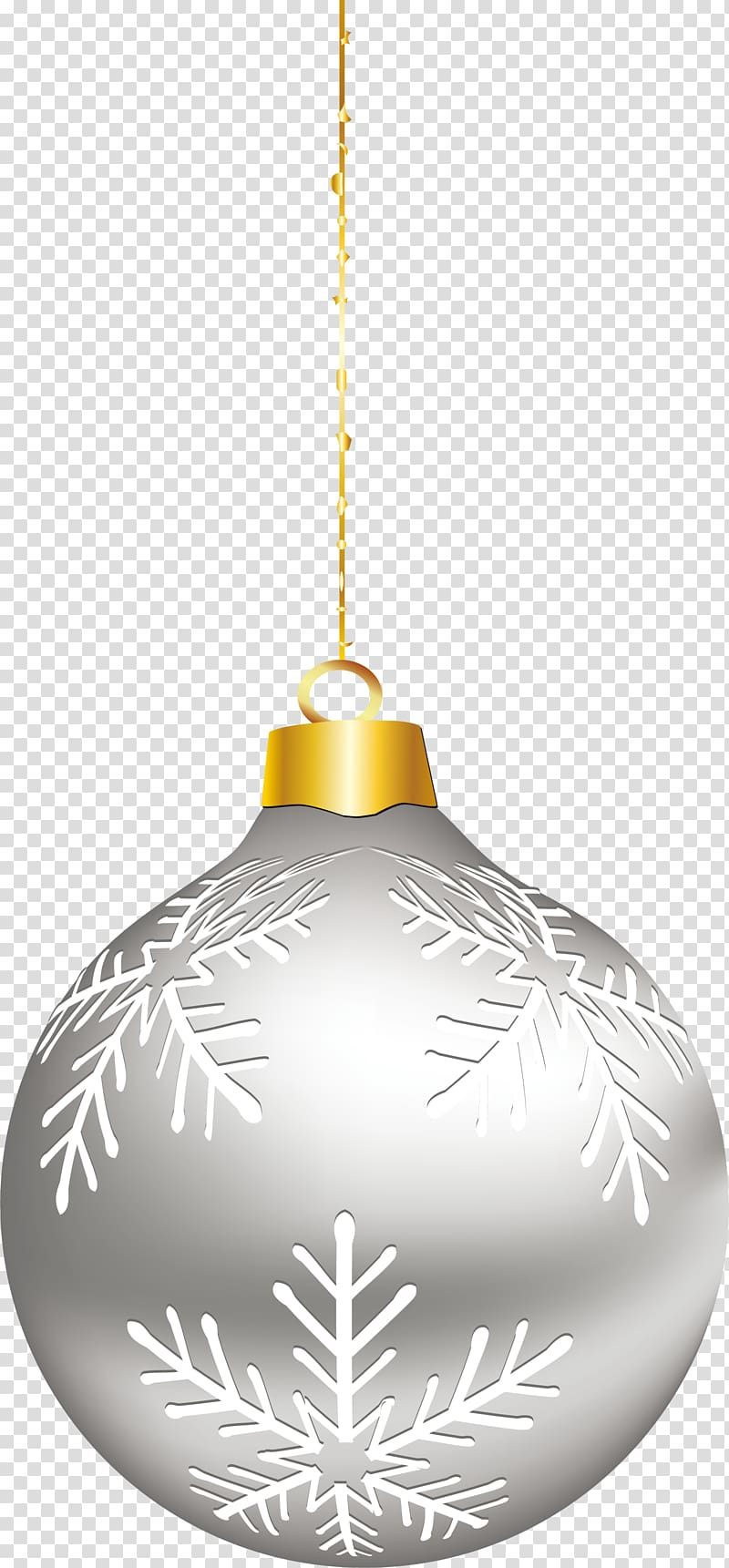 Christmas ornament Silver, Simple silver ornaments.
