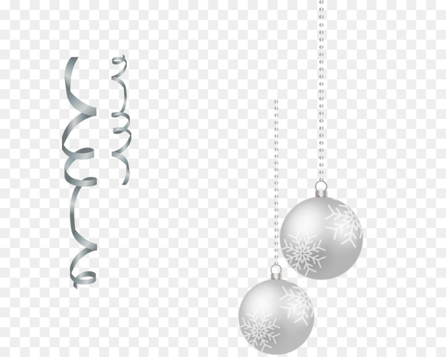 Christmas Black And White png download.
