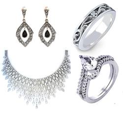 Silver Jewelry in Jamnagar, रजत से बने आभूषण.
