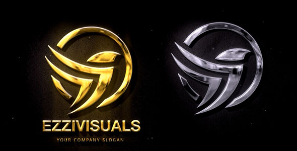 Silver & Gold Logo Reveal 2.