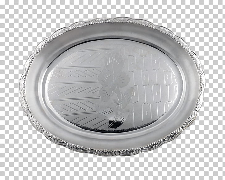 Silver Platter Metal, silver plate PNG clipart.