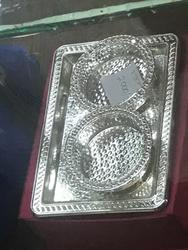 Silver Plate in Pune, चाँदी की प्लेट, पुणे.