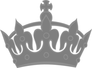 Royal Crown Silver Clip Art at Clker.com.