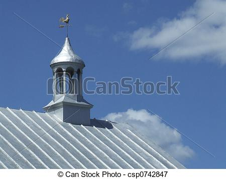 Picture of silver metal roof.