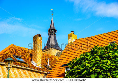 Red Roof Slates Stock Photos, Royalty.