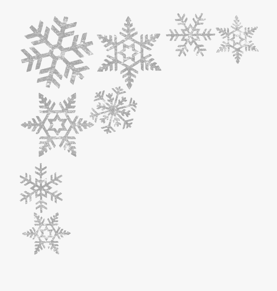 Image Royalty Free Library Silver Snowflake Clipart.