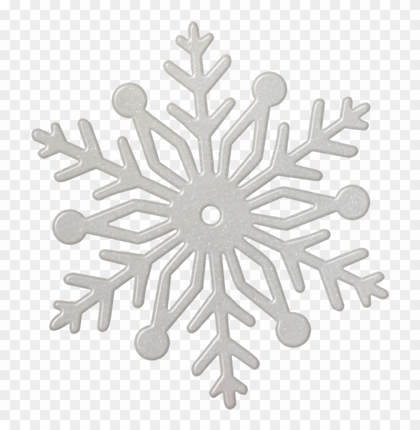 Silver Snowflake Png.