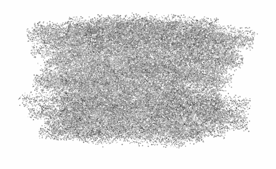 Silver Glitter Png.