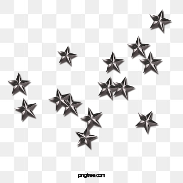 Silver Star PNG Images.