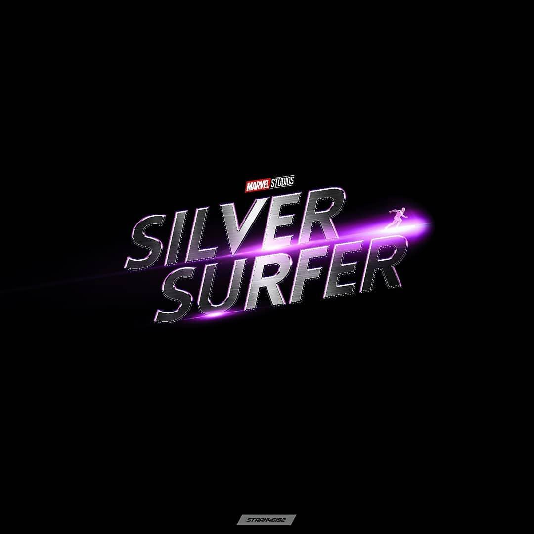 Silver Surfer fan logo by Albin George : marvelstudios.