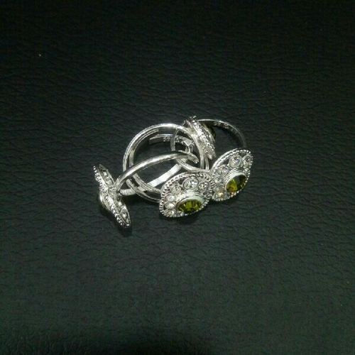 Silver Toe Ring.